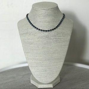 Jewelry - Blue Chrome Choker